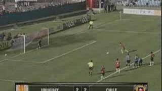 Uruguay vs Chile 2010 World Cup Qualifiers South America