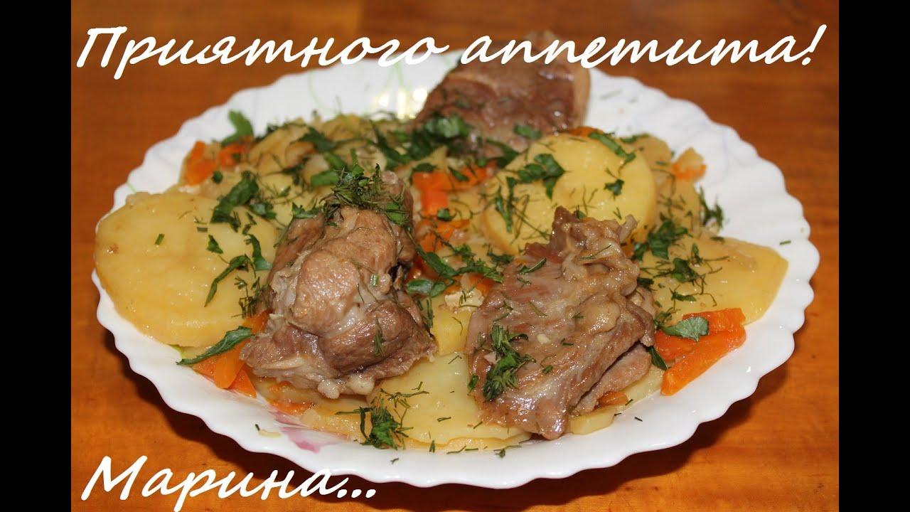 Блюда из баранины в мультиварке