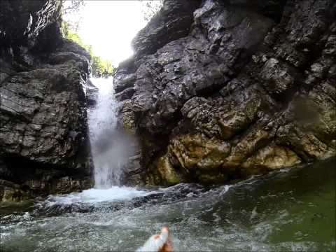 Canyoning Aquactive skok