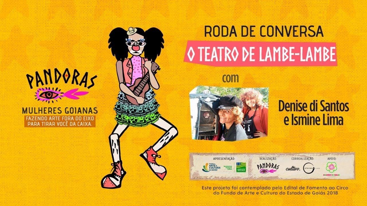 Teatro de Lambe-Lambe, com Denise dos Santos e Ismine Silva