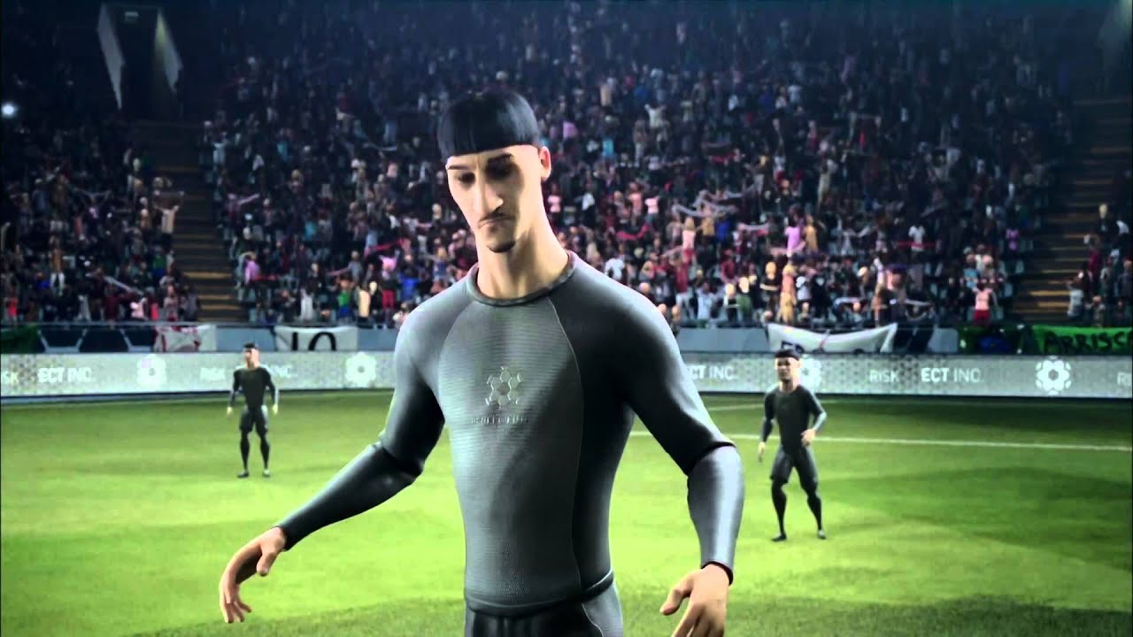 Nike Football: Ibrahimović, C. Ronaldo, Ribéry, Rooney Risk Everything CM  [HD] - YouTube