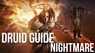 Diablo 2 - DRUID GUIDED PLAYTHROUGH - Part Nightmare