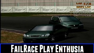 FailRace Play Enthusia Professional Racing