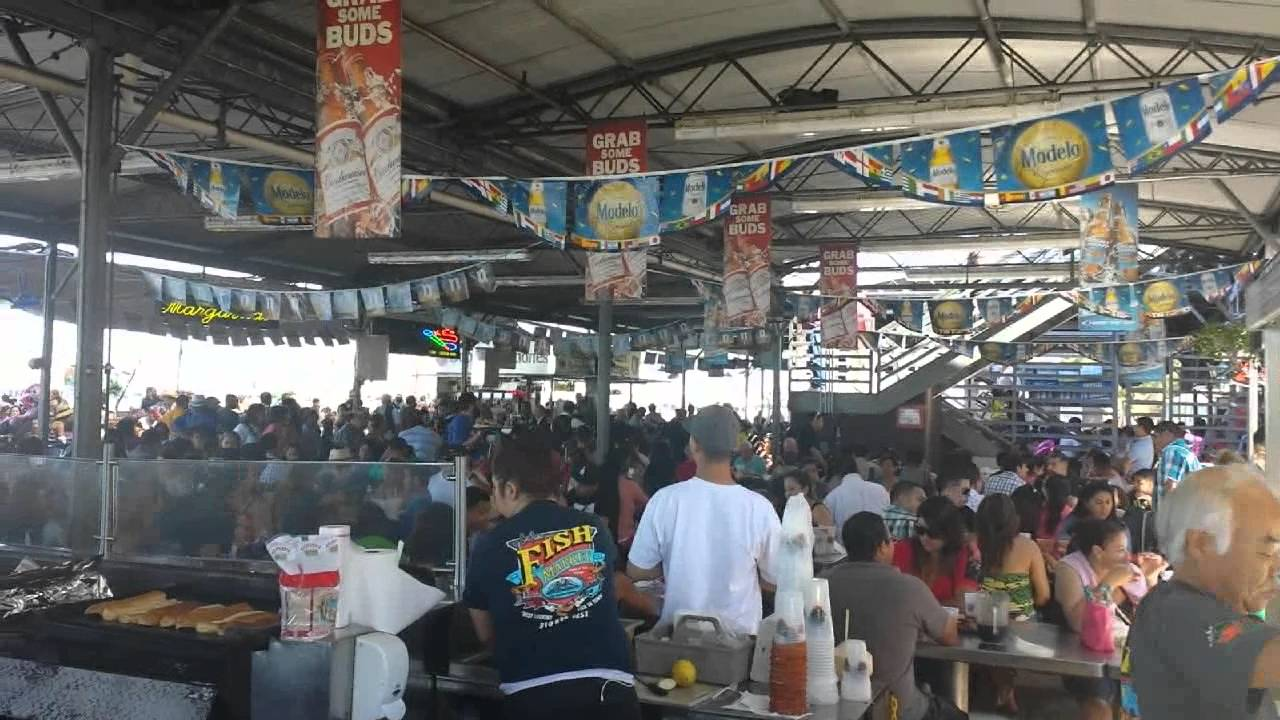 fish market san pedro youtube