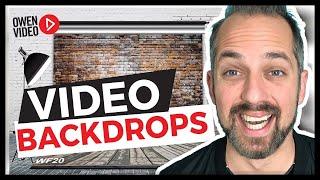 Best DIY video backdrops - DIY Home Studio for YouTube Video
