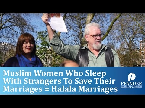 MUSLIM WOMEN WHO SLEEP WITH STRANGERS TO SAVE THEIR MARRIAGES = HALALA MARRIAGES