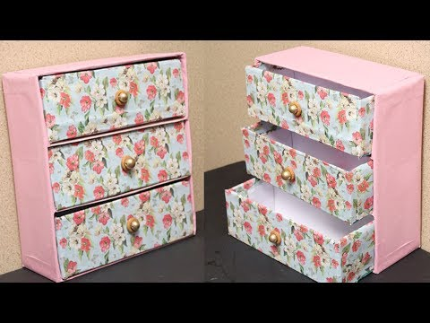 DIY Shoe Box Storage - Organizer From Recycled Shoe Boxes