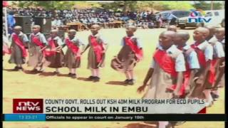 Embu County government rolls out Ksh 40M milk program for ECD pupils