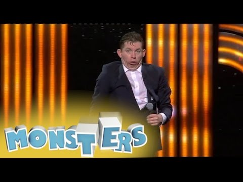 At the Sea Life Centre - Lee Evans: Monsters Tour 2014