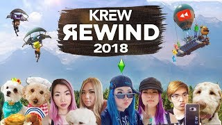 KREW YouTube Rewind 2018 (Funny Moments)