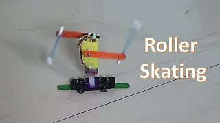 How to make a roller Skating robot