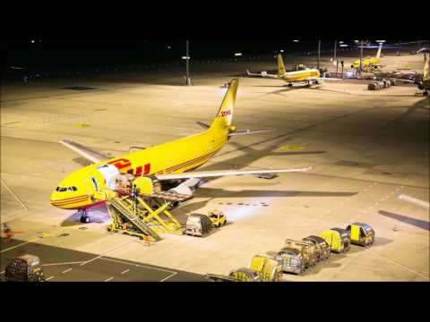 DHL Leipzig Hub Timelapse