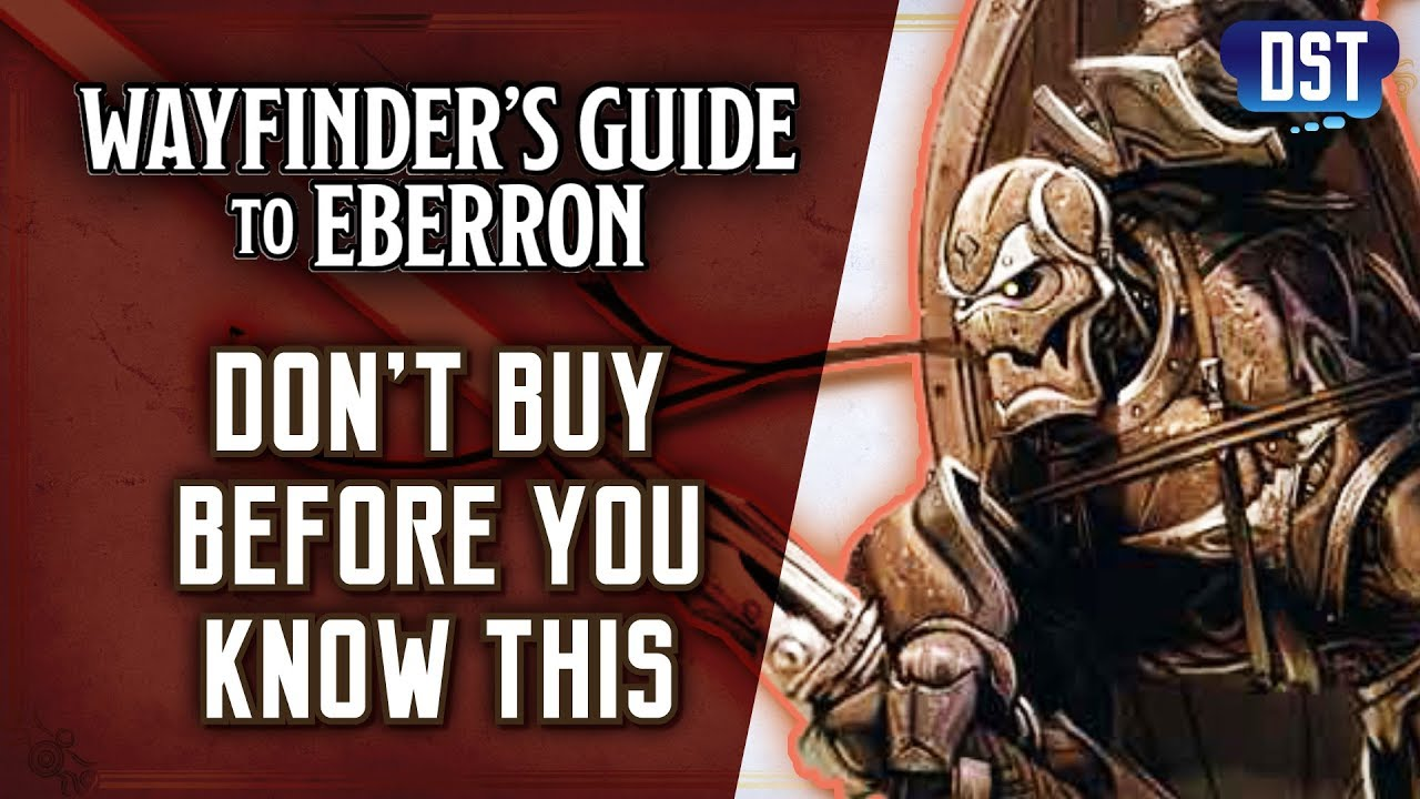 Don't Buy Wayfinder's Guide To Eberron (D&D 5e) Before You Know This