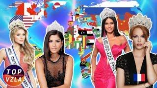 Miss Universo 2019 ¡máximas Favoritas De Cada Continente!
