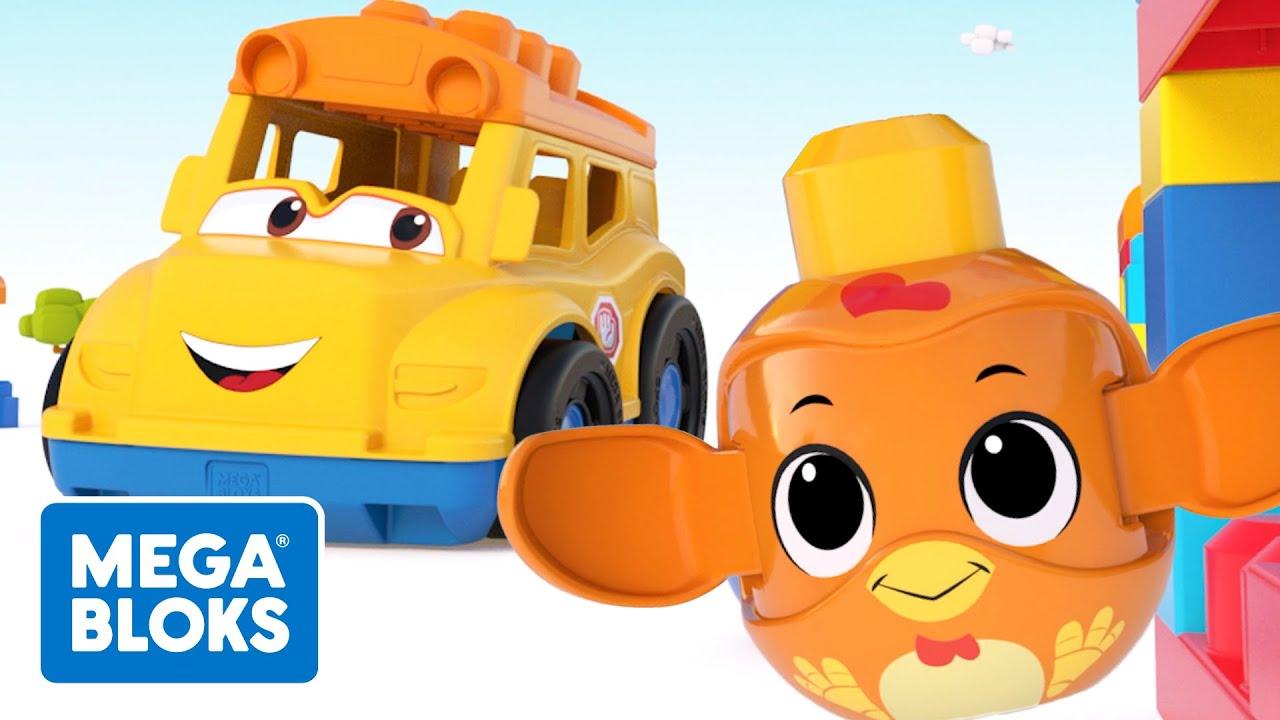 MEGA BLOKS™ | Gran viaje en autobús escolar | NUEVO! | Dibujos animados | Fisher-Price® España