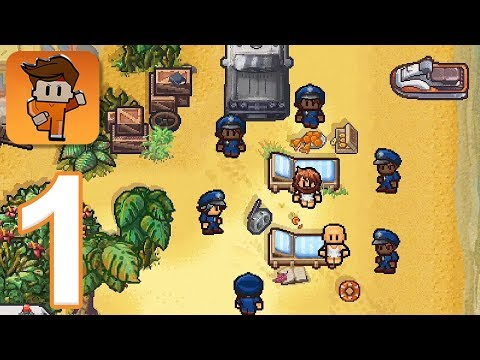 Escapists 2: Pocket Breakout - Gameplay Walkthrough Part 1 - Precinct 17 (iOS, Android)