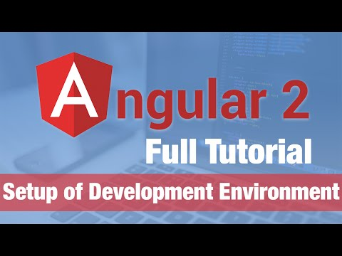 angular 2 development environment
