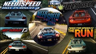 Porsche Carrera GT Evolution in NFS Games - 1080pHD