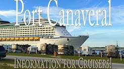 Cruise Port Canaveral - Essential Information for Cruisers: VIDEO 1 (Layout & Aerial Tour)