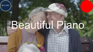 Beautiful Piano Music for working and Reading, Relaxing Music for Older People