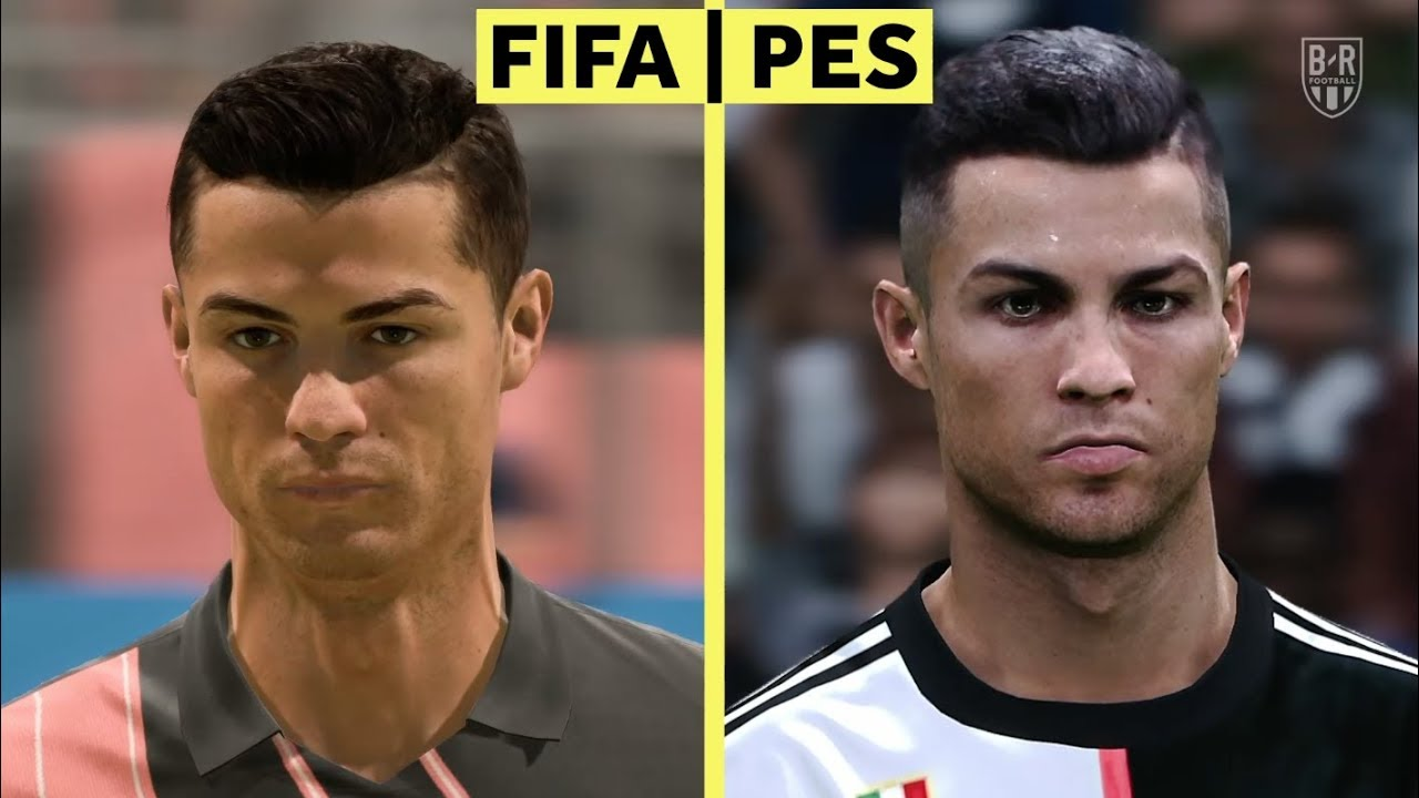 Fifa 20 Vs Pes 2020 Which Graphics Are Better Youtube