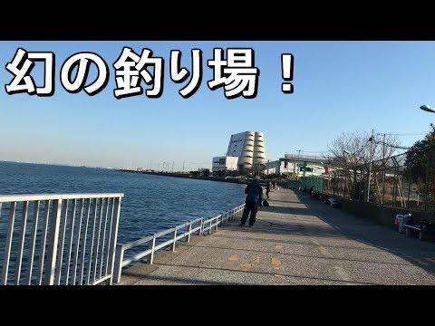 【浮島つり園】超絶穴場!廃れた元有名海釣り公園は魚種の宝庫だった笑【2019.01.04】