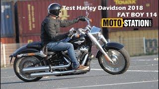Essai Harley Davidson Fat Boy 114 2018 : Le Mythe Revisité !