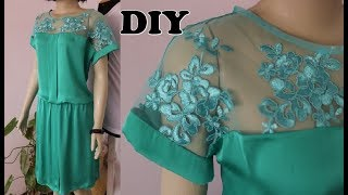 Aprenda Fazer Vestido com Efeito Bluse