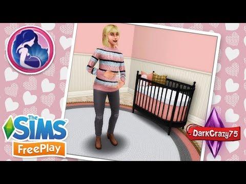 Paquete de maternidad en AR  🍼 Ropa cuna alfombra paredes etc 🍼 Los Sims Freeplay
