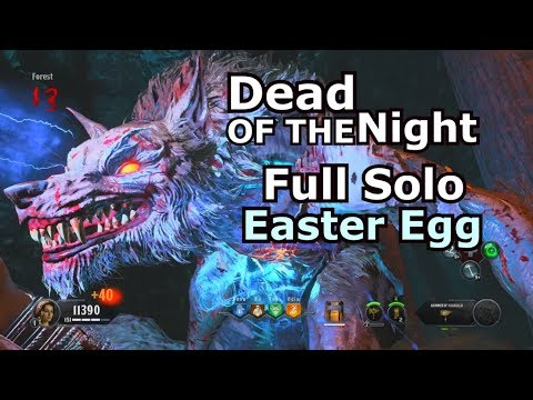 Dead Of The Night Full Solo Easter Egg Speed Run PS4 1:13:50