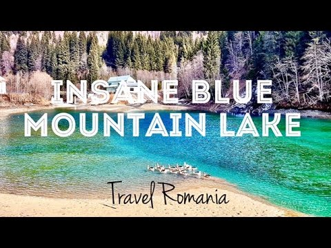JTS | The most amazingly blue lake in Bucegi Mountains, Romania