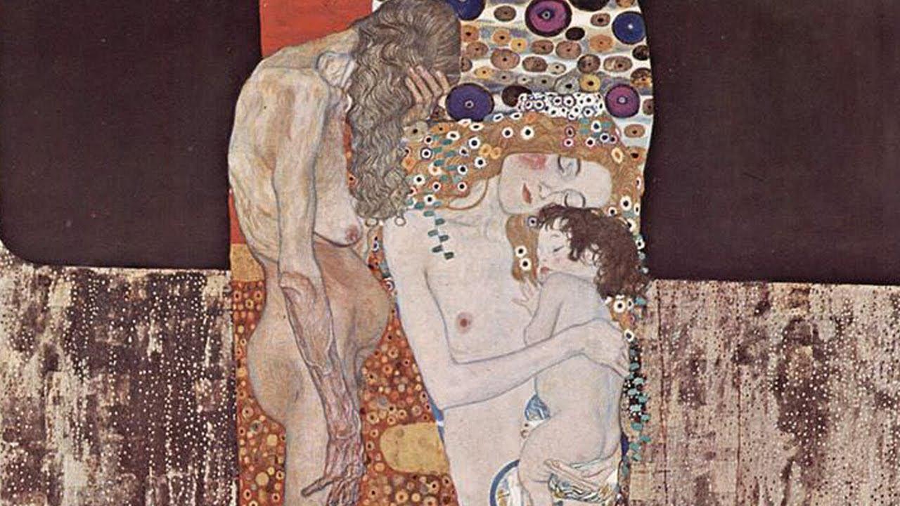 Le Tre Eta Della Donna Dipinto Di Klimt