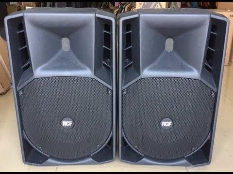 Rcf art 725 passive speaker sound test