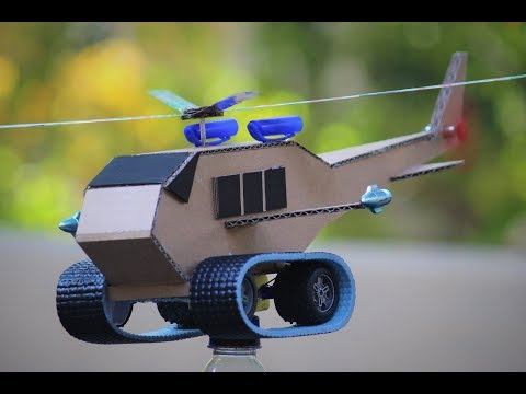 How To Make a Helicopter - Helicopter