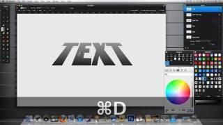 Pixelmator 2 Tutorial: Creating Faux 3D
