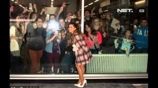 Video Entertainment News - Justin Bieber dan Ariana Grande dikerumuni fans download MP3, 3GP, MP4, WEBM, AVI, FLV Juni 2017
