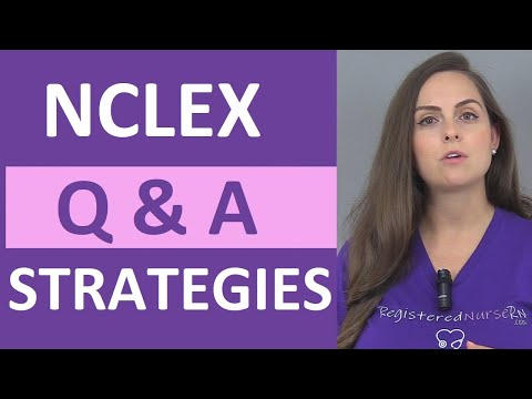 NCLEX Questions and Answers Strategies