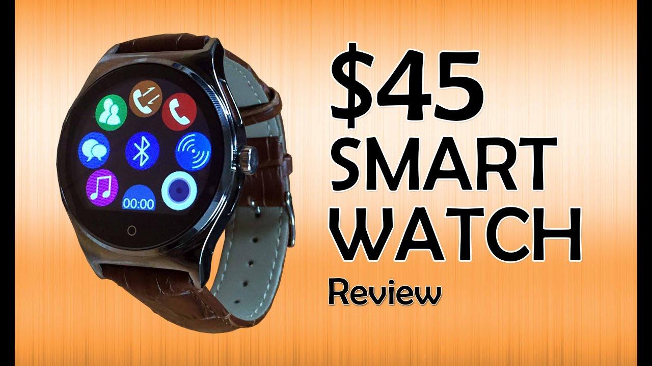 Cheap Smartwatch Rwatch R11 full review!