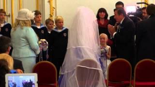 Hochzeit von Richard Lugner und Cathy Schmitz