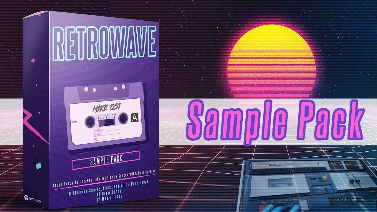 OSTAudio Retrowave Cassette Tape WAV   Go AudiO