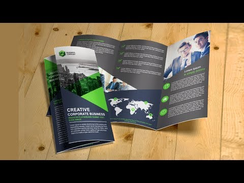 Brochure maker template free download