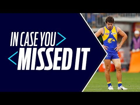 Gaff's apology, Giants' carnage: In Case You Missed It | Round 20, 2018 | AFL