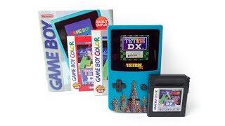 Tetris DX Edition Backlit Game Boy Color