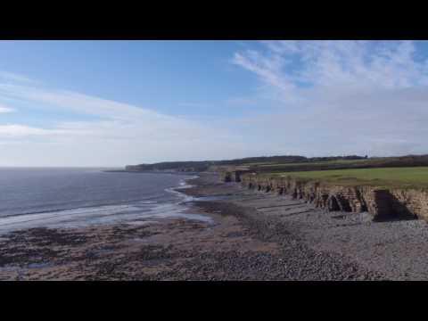 Llantwit Major Beach-jaymie james-DJI Inspire