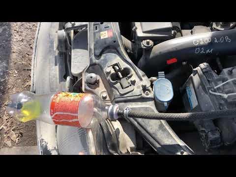 Mercedes-Benz w203 m111 kompressor промывка форсунок