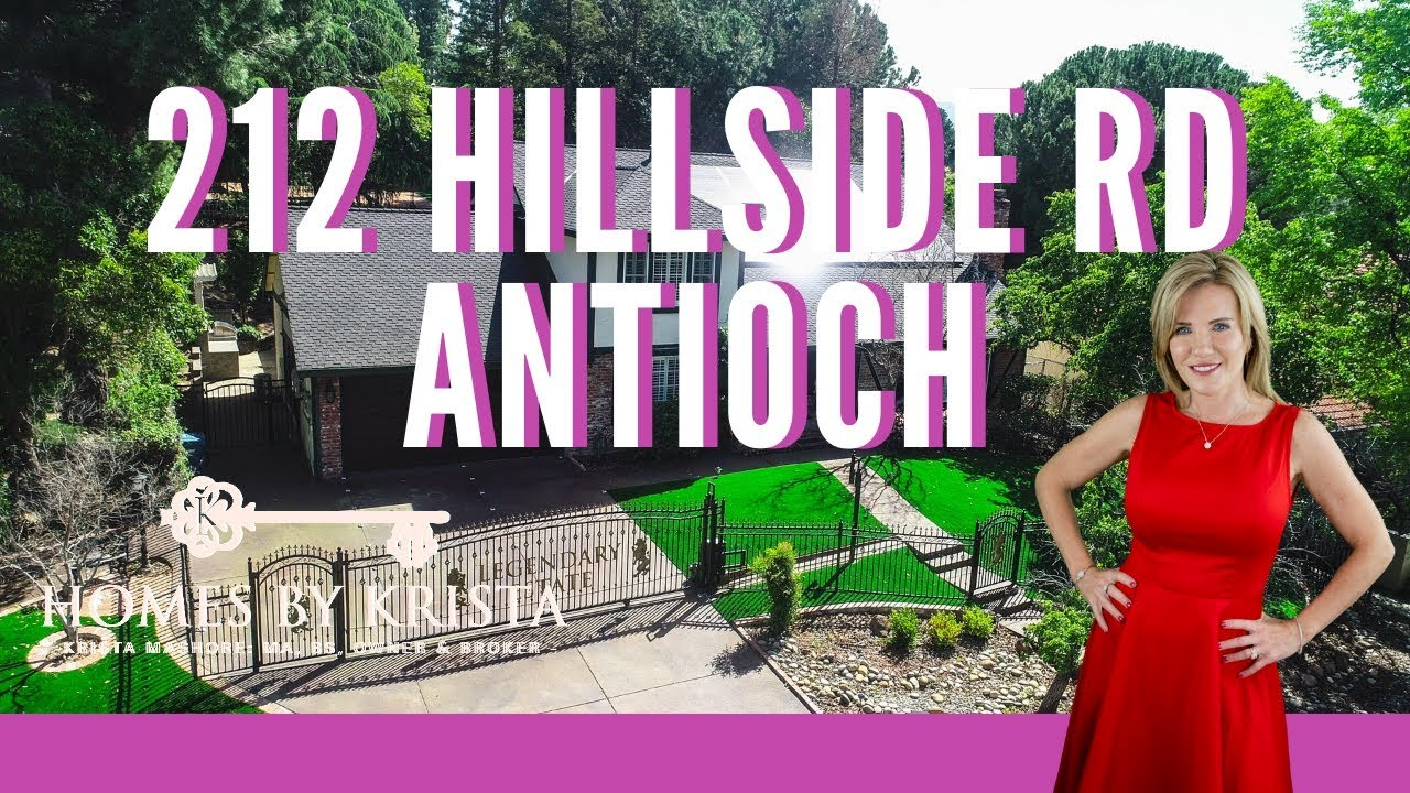 Gorgeous, Gated Two-Story Home in Antioch - 212 Hillside Road