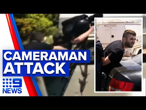 9 News cameraman bashed while on job | 9 News Australia thumbnail