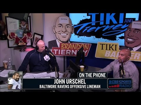 Ravens Offensive Lineman John Urschel Joins Tiki & Tierney
