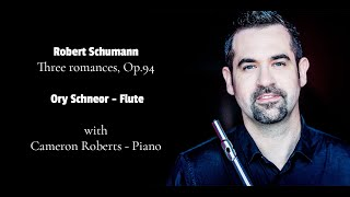 Robert Schumann - 3 romances, Op.94 for flute (oboe,violin) and piano