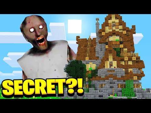 I FOUND Granny's *SECRET* House in Minecraft Pocket Edition! thumbnail
